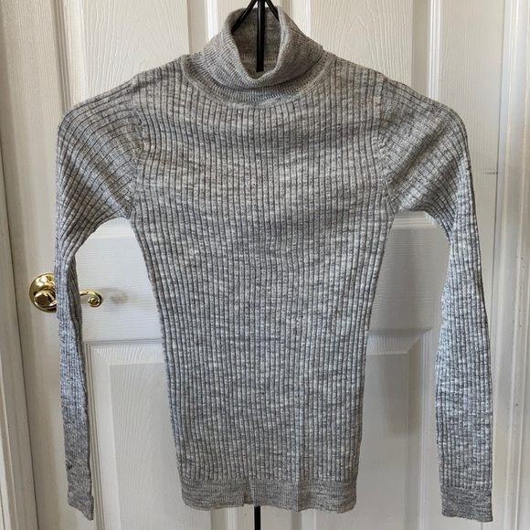 NWT Brave Soul Grey Turtleneck Sweater Size XS